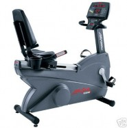 Life Fitness 9500 HR Recumbent Bike